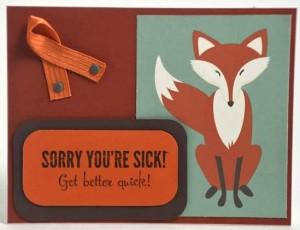 sorry youre sick fox
